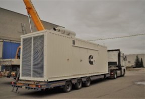 Mobile gensets as a source of power energy under extreme conditions